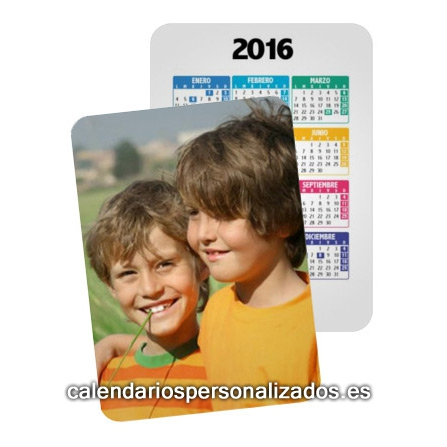 Ya disponibles Calendarios de Bolsillo 2016 Personalizados